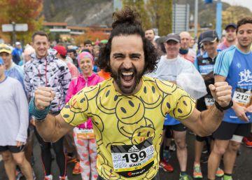 En 'Maraton Man' la sonrisa es la meta