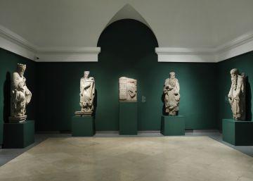 El Prado reúne 14 piezas originales del Pórtico de la Gloria