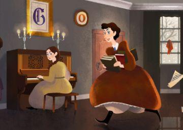 Louisa May Alcott, autora de 'Mujercitas'