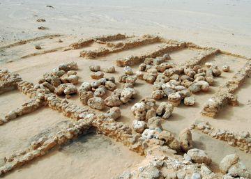 El puerto que aprovisionó la gran pirámide de Keops
