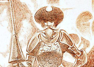 El Quijote vence molinos en viñetas
