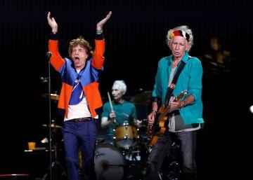 ¿El nuevo disco de los Rolling Stones? Ruidoso entusiasmo