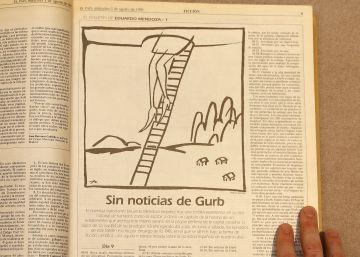 'Sin noticias de Gurb', tal y como se publicó