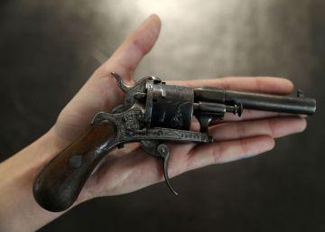 La pistola que casi mata a Rimbaud, subastada por medio millón de euros