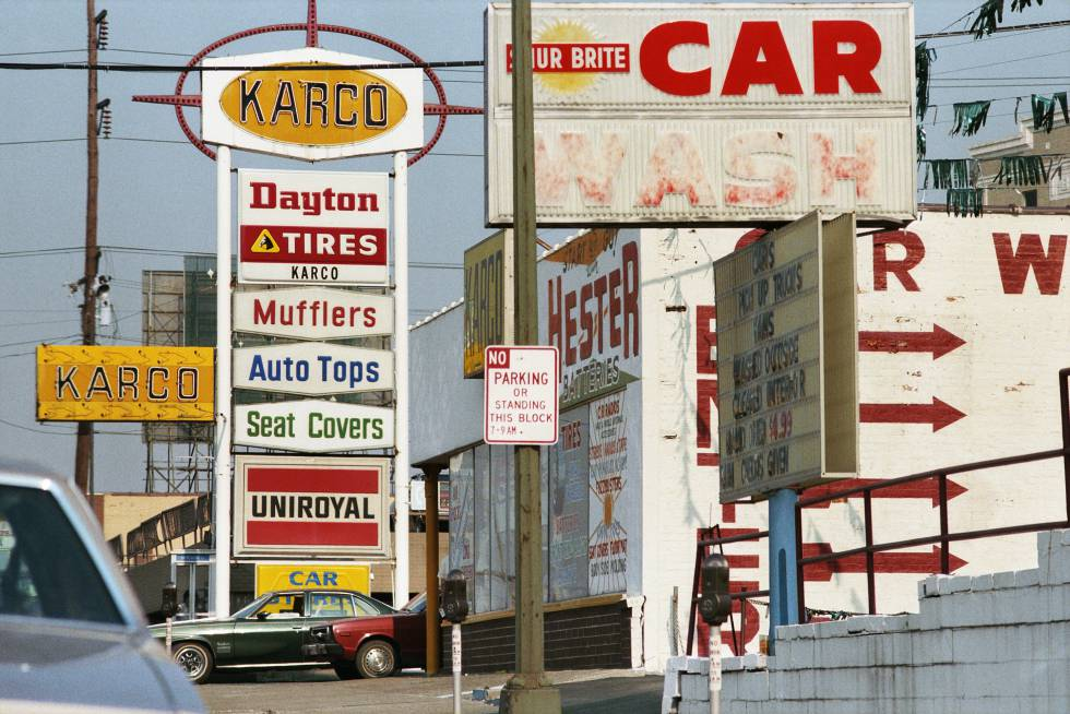 Fotografía de William Eggleston.