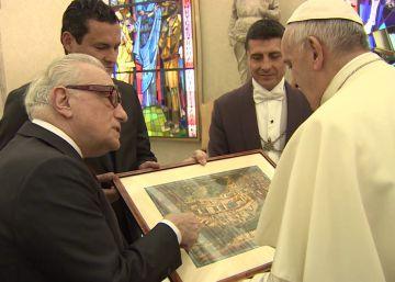 Scorsese muestra 'Silence' al papa Francisco