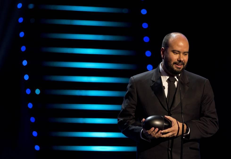 Ciro Guerra, director de 'El abrazo de la serpiente', en la entrega de 2015.