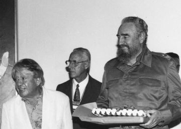 El retratista de Fidel