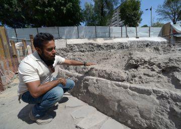 Descubierto en Tlatelolco un templo dedicado al dios del viento