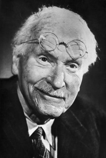 Carl Jung en torno a 1960.