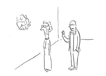 El mundillo del arte contemporáneo da risa