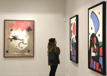 Mapfre abre en Madrid un Espacio Miró con 65 obras cedidas por la familia del artista