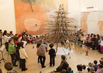 Cataluña celebra una Navidad que mezcla el arte y la tecnología