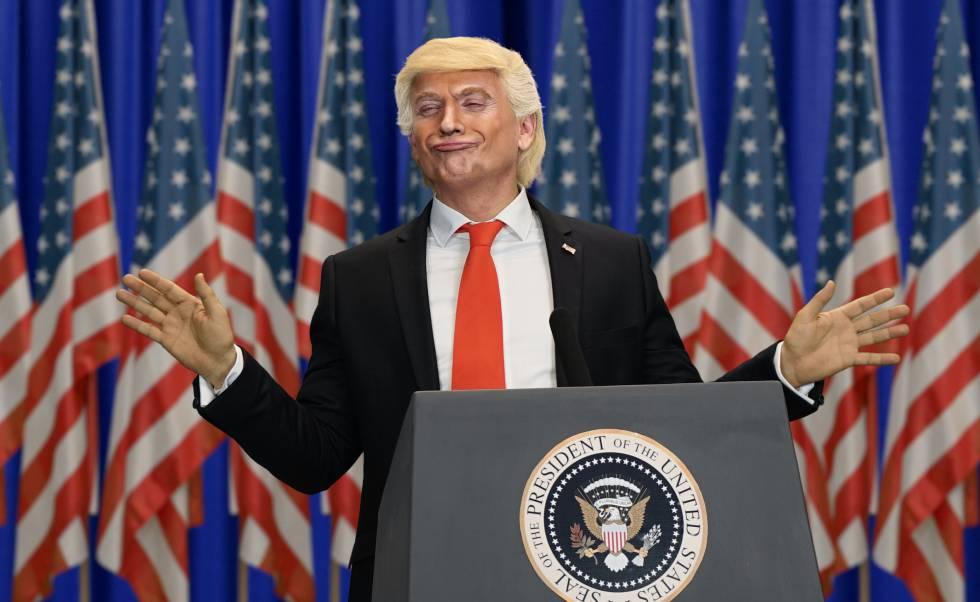José Mota, caracterizado como Donald Trump para el especial de Nochevieja de La 1.
