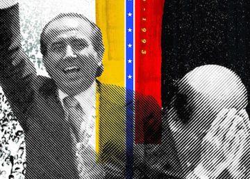 La pantalla reivindica a Carlos Andrés Pérez