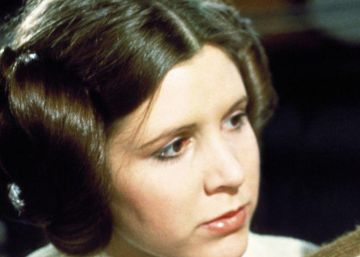 Luke Skywalker se despide de la princesa Leia