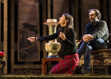 La actriz Bárbara Lluch se estrena como directora de ópera con 'Le cinesi'