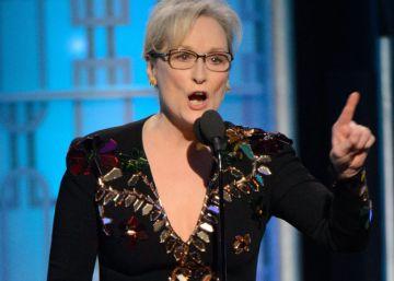 """Trump: """"Streep es una lacaya de Hillary Clinton"""""""