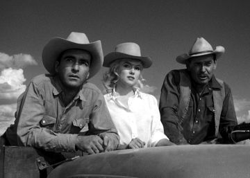 John Huston reúne a Marilyn, Clark Gable y Montgomery Clift