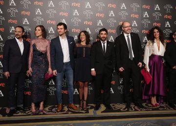 Los Goya brindan contrarreloj