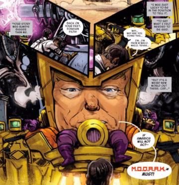 O desenhista que transforma as declarações de Trump em HQ