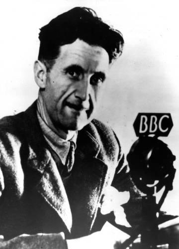 O escritor e jornalista George Orwell., em uma imagem sem datar.
