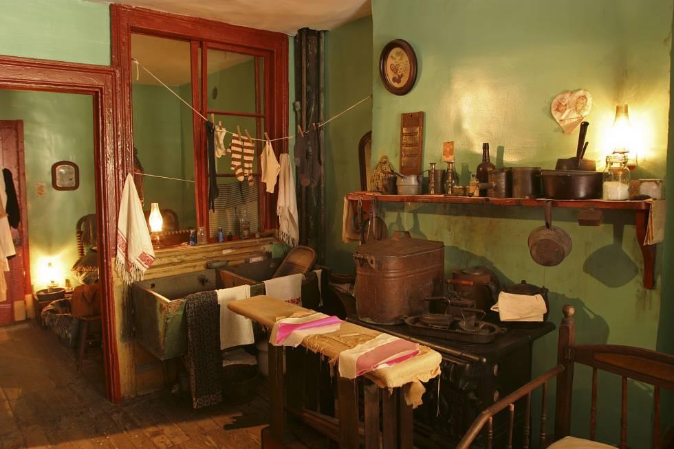 El Tenement Museum, una casa de 1863 por la que pasaron hasta 7.000 trabajadores extranjeros.
