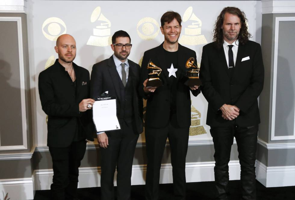 Jason Lindner, Mark Guiliana, Donny McCaslin e Tim Lefebvre, a banda que gravou 'Blackstar' com David Bowie.