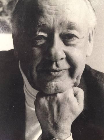 Retrato de Ionesco en los años setenta.