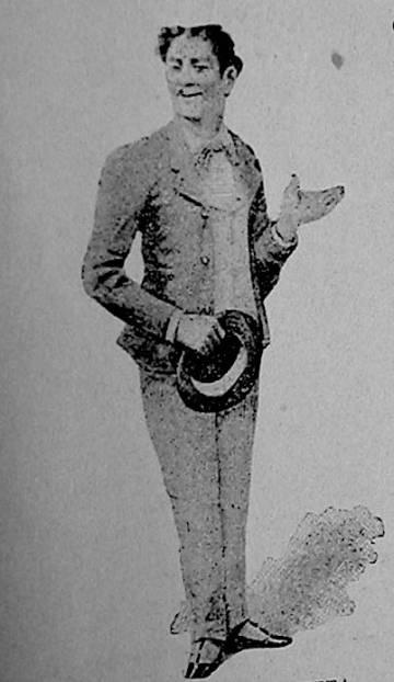 Representación de un esteta o gay en la obra del médico gaditano Cayetano del Toro 'La luz y la pintura' (1901).