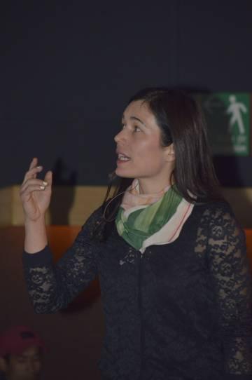 Sangiorgi, fundadora y directora del certamen.