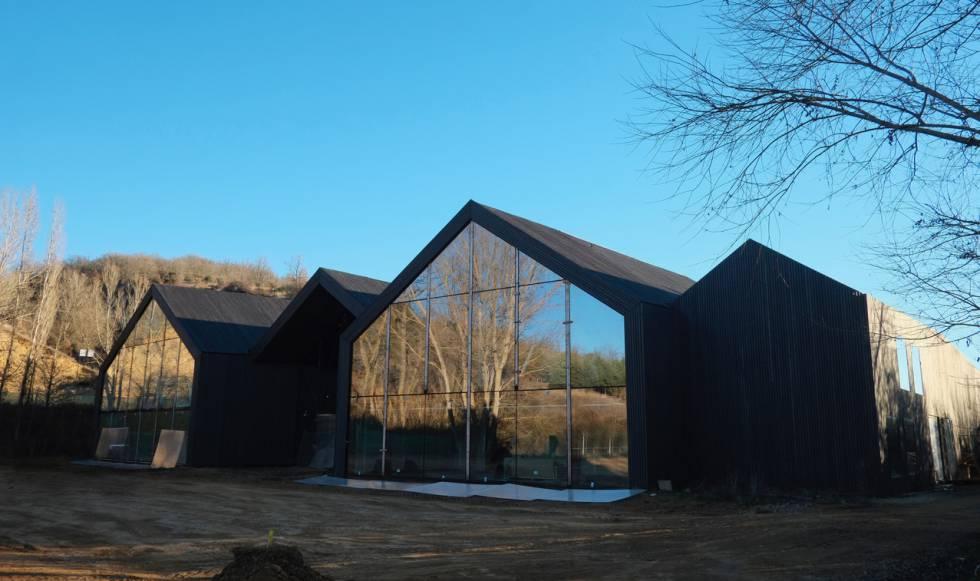 La nueva sede de la Fundación Cerezales Antonino y Cinia, diseñada por Alejandro Zaera.