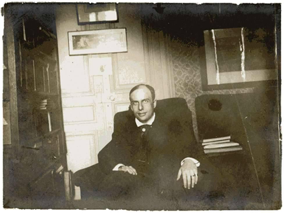Marcel Schwob en una imagen sin datar.