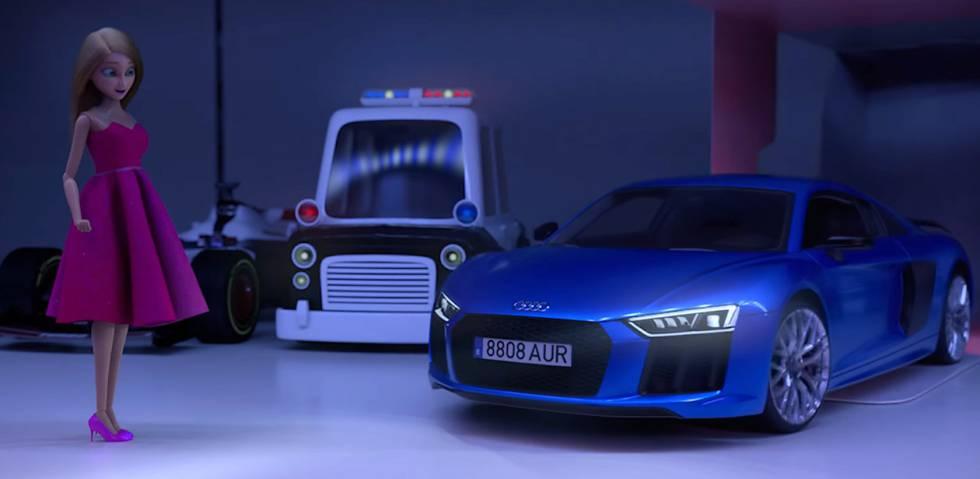 Campaña de publicidad de Audi 'La muñeca que eligió conducir'.