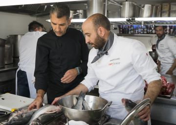 Chicote contra Roncero en 'Top Chef'
