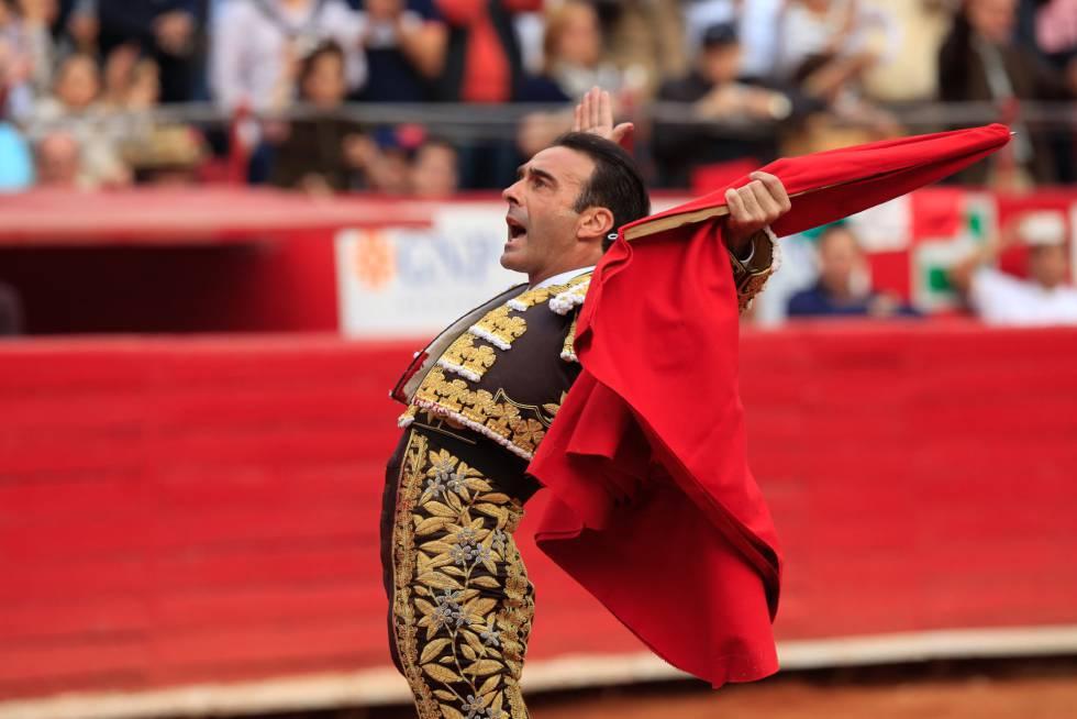Enrique Ponce, en la plaza Monumental de México el pasado 4 de febrero