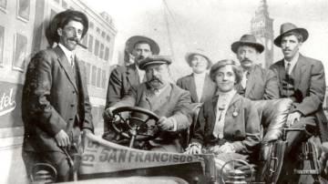 Vascos en la Exposición Universal de San Francisco de 1915.