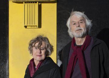 Anne Wagner y T. J. Clark, la semana pasada en Londres.