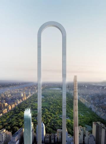 Primeiro arranha-céu curvo deverá ser o edifício mais alto do mundo