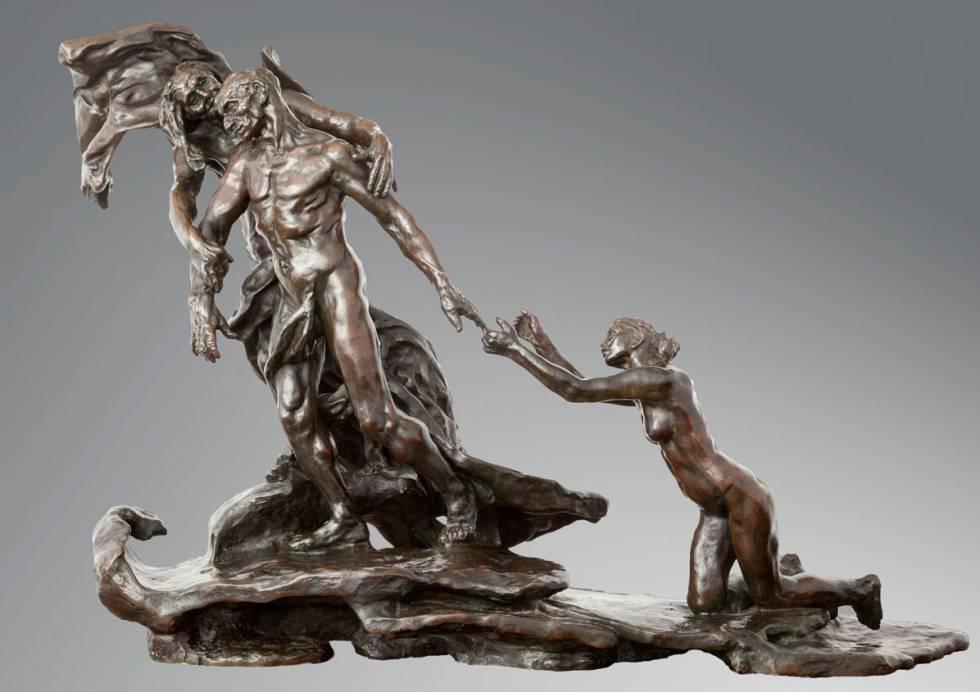 'La edad madura' (1902), de Camille Claudel.