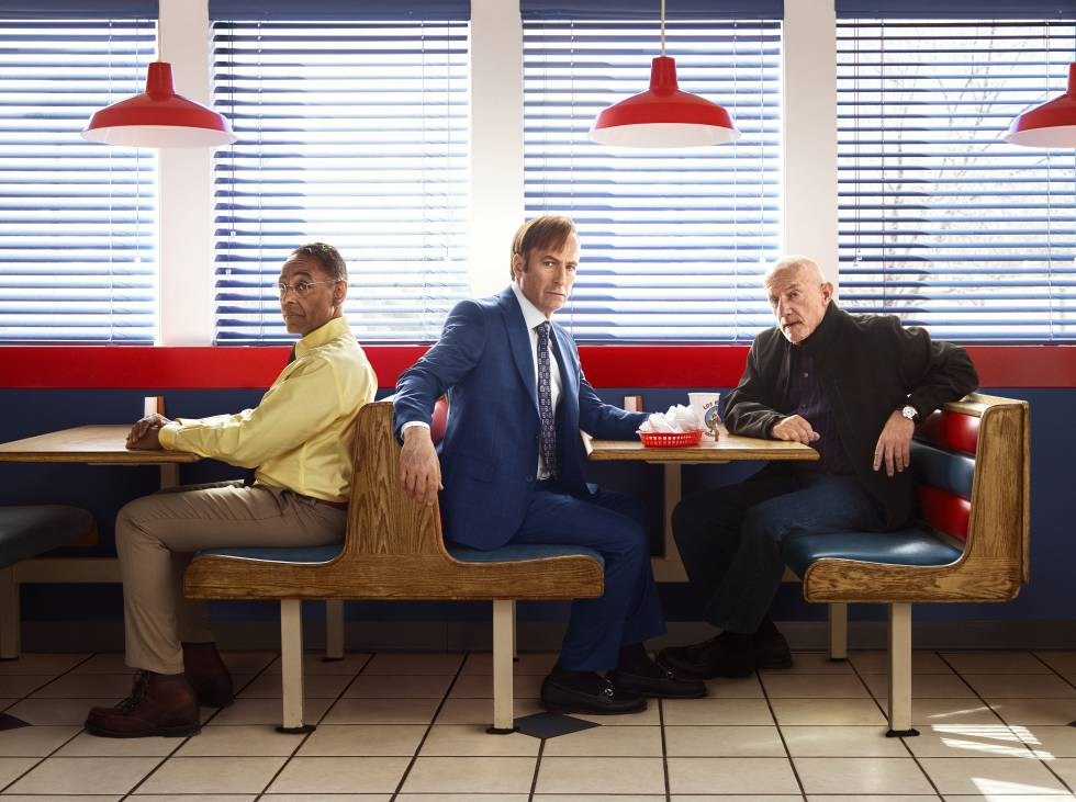 The cast of 'Better Call Saul'.