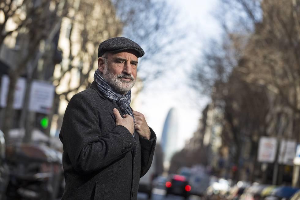 El escritor vasco Fernando Aramburu, en Barcelona, el pasado febrero.
