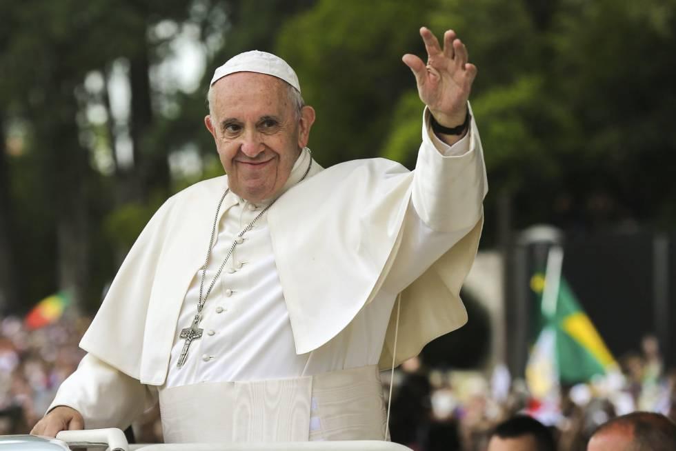 El Papa, en el santuario de Fátima, Portugal, el pasado 12 de mayo.