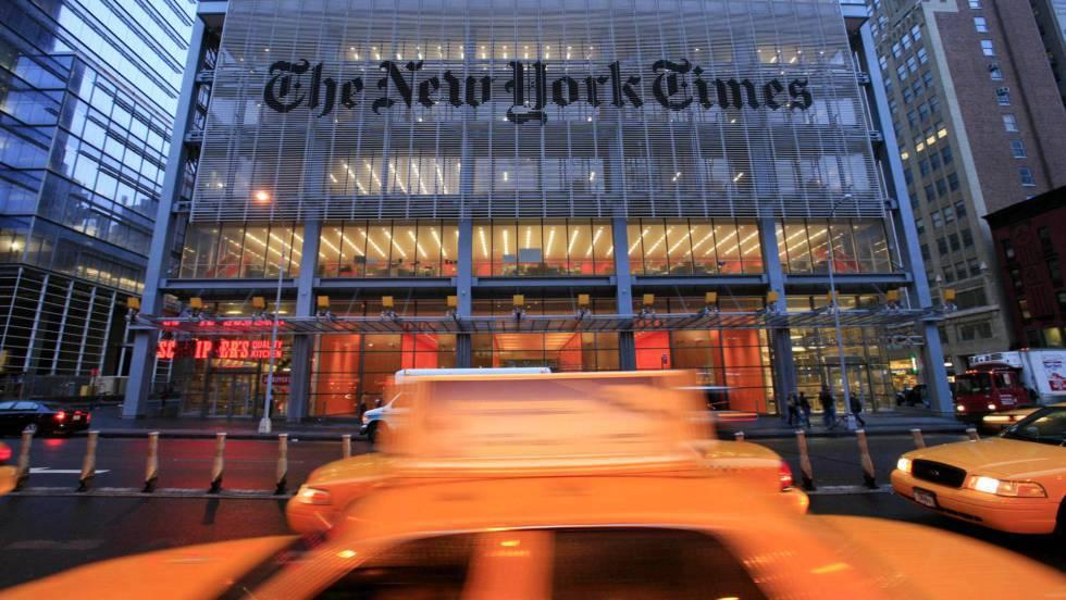 La sede del 'Times' en Nueva York