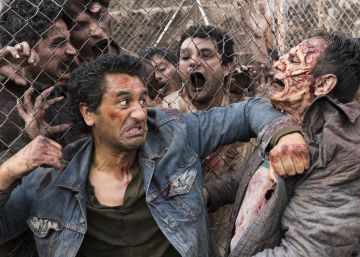 Los zombis de 'Fear the Walking Dead' se asientan en la frontera