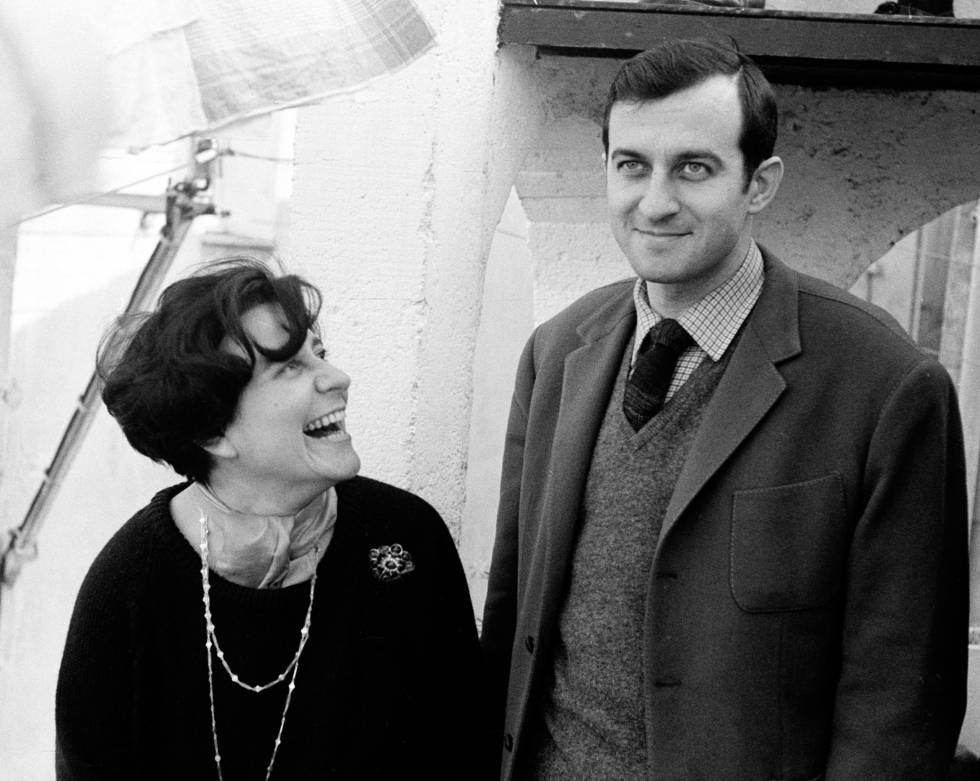 Monique Lange y Juan Goytisolo en 1964.