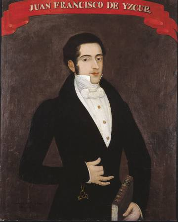 'Retrato de don Juan Francisco de Izcué y Sáez Texada', de Gil de Castro y Morales.