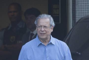 José Dirceu, en la Policía Federal, la semana pasada.