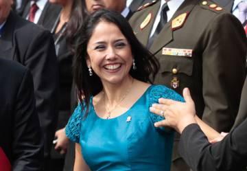 Nadine Heredia, en abril de 2014.