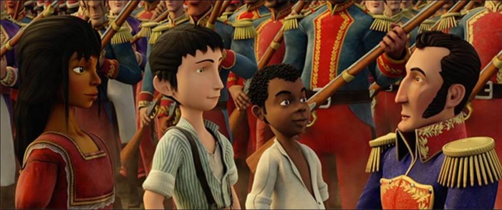 Fotograma de 'Pequeños héroes'.